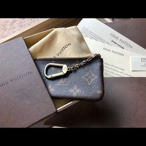 Louis Vuitton Monogram Canvas Key & Card Holder